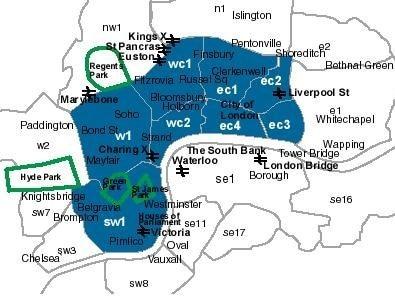 centrallondonpostcodes