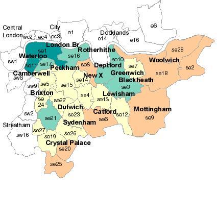 southeastlondonpostcodes